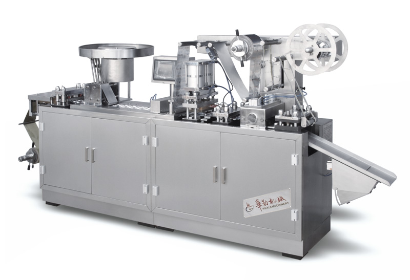 DPP-140E Alu Alu Blister Packing Machine For Capsule And Tablet