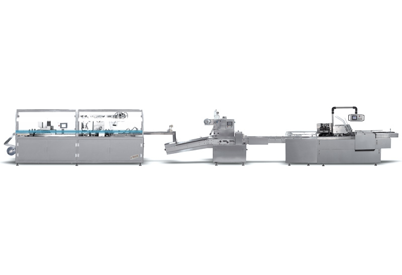 Blister Pillow Carton Packing Line