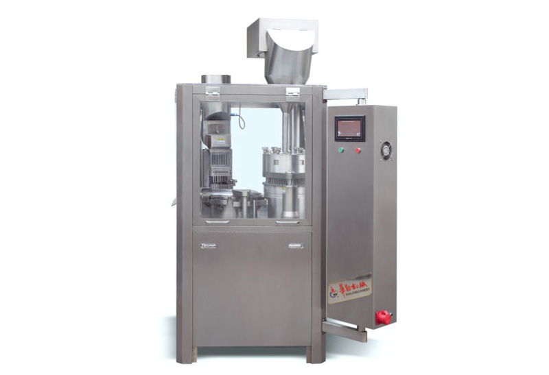 NJP-400C Automatic Hard Capsule Filling Machine For 00 To 5 Capsule Size