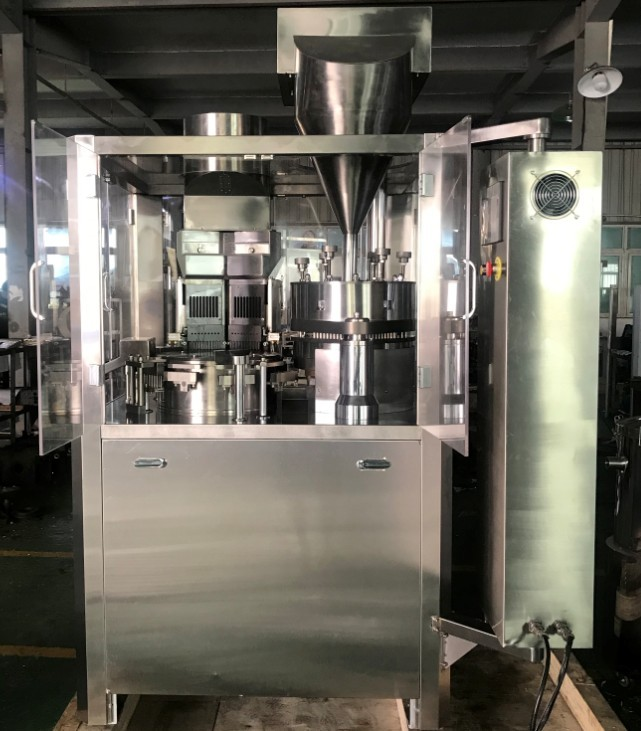 HUALE NJP-2000C Automatic Capsule Filling Machine Used For Powder Pellet Particle Filling Capsule